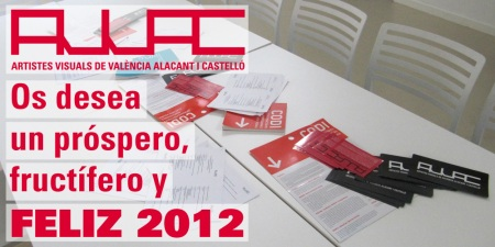 avvac os desea un próspero, fructífero y FELIZ 2012