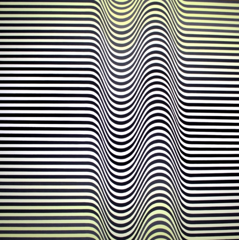 Cristina Ghetti. Mareas. 2012. Pintura acrílica sobre lienzo , 120 x 120 cm.