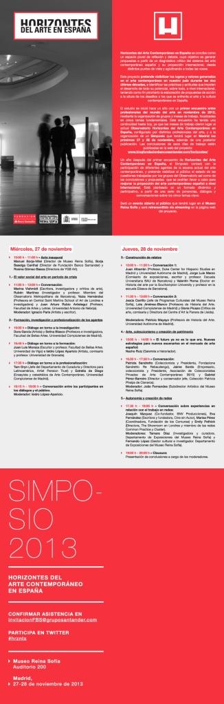 Programa Horizontes del Artevv