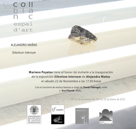 Invitación Alejandro Mañas prensa